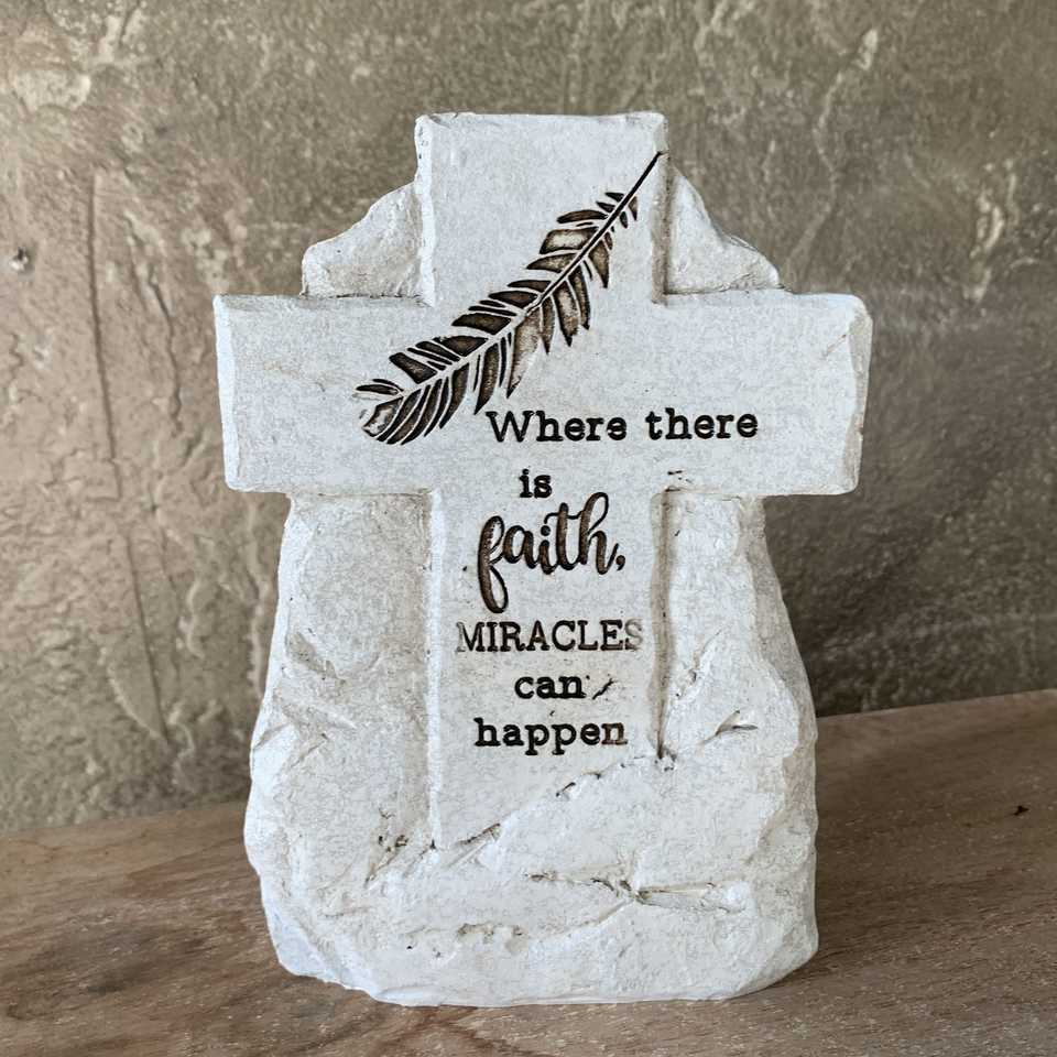 Memorial Plaque - Faith