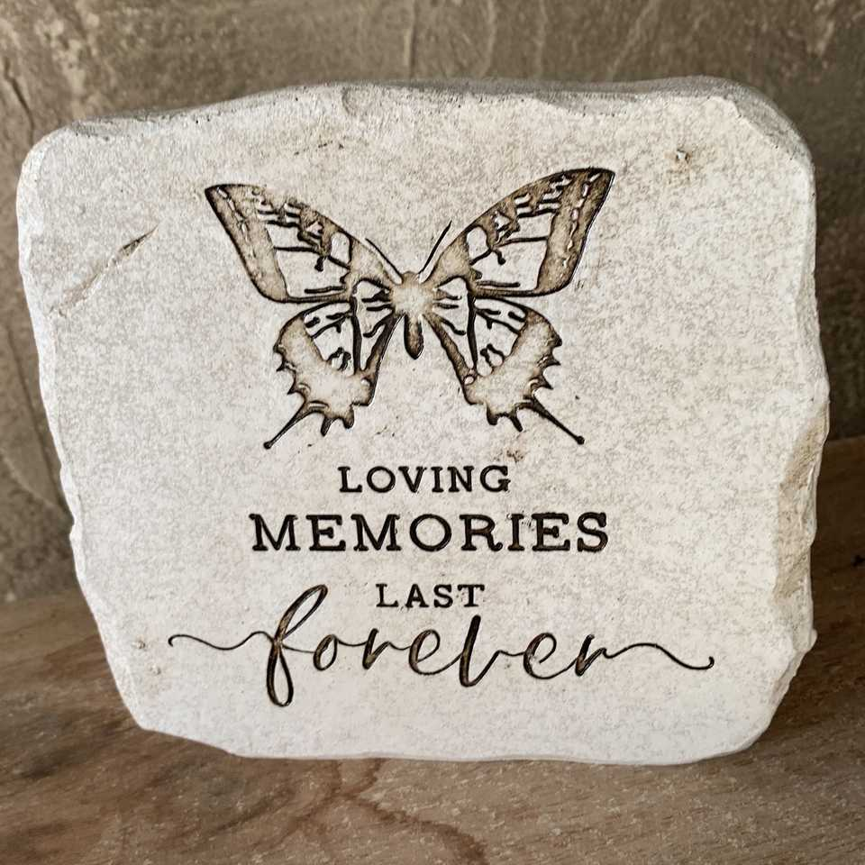 Memorial Plaque - Butterfly